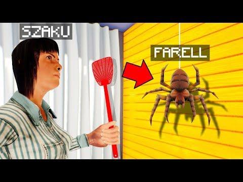 TRAF W NIEBEZPIECZNEGO Pająka żeby WYGRAĆ! Slap The Fly