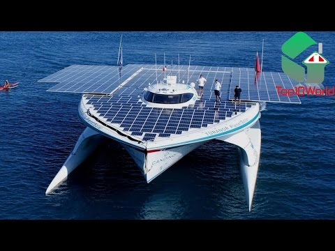 10 AMAZING SOLAR POWERED GADGETS