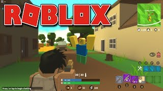 Roblox-GAME INSPIRED by the FORTNITE (Island Royale)