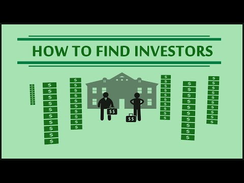 HOW TO FIND INVESTORS - Funding your real estate deals