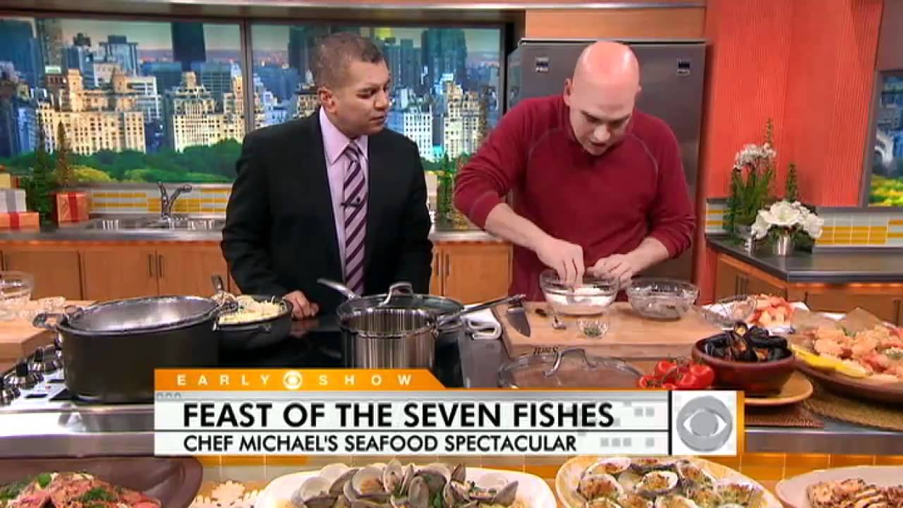 7 Fishes Christmas Eve Italian Recipes.Feast Of The Seven Fishes Made Easy