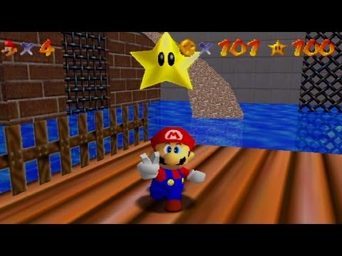 Super Mario 64 (Ep. 22) : and the hot woman