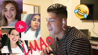 TOP 3 GIRLS ON MUSICAL.LY REACTION!
