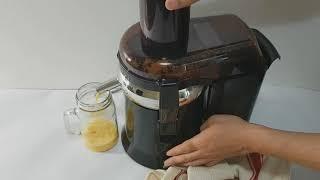 아로나 칼로스 원액기로 주스만들기