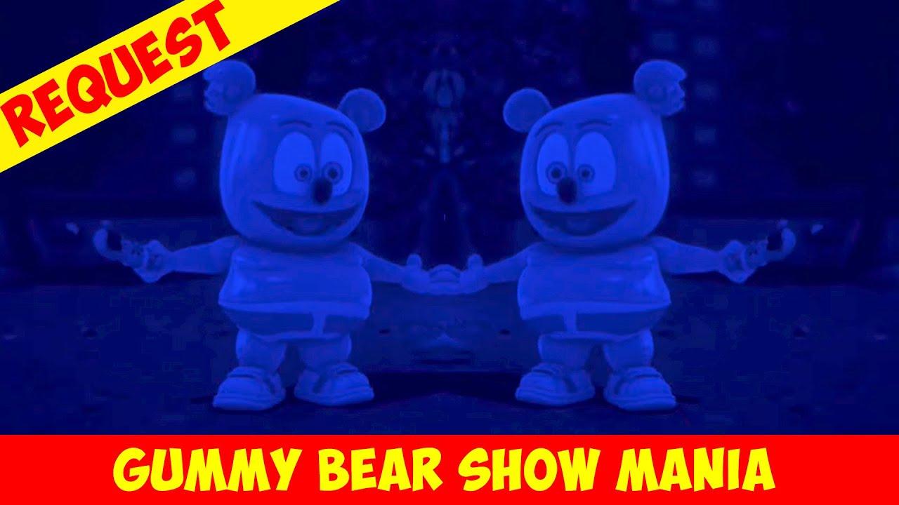 Spooktacular (Chipmunk, Blue & Mirror) Special Request - Gummy Bear Show MANIA