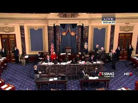 Biden swears in Sen Patrick Leahy as President Pro Tempore of the Senate (December 19, 2012)