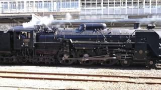 快速SLレトロ碓氷、高崎駅入線。