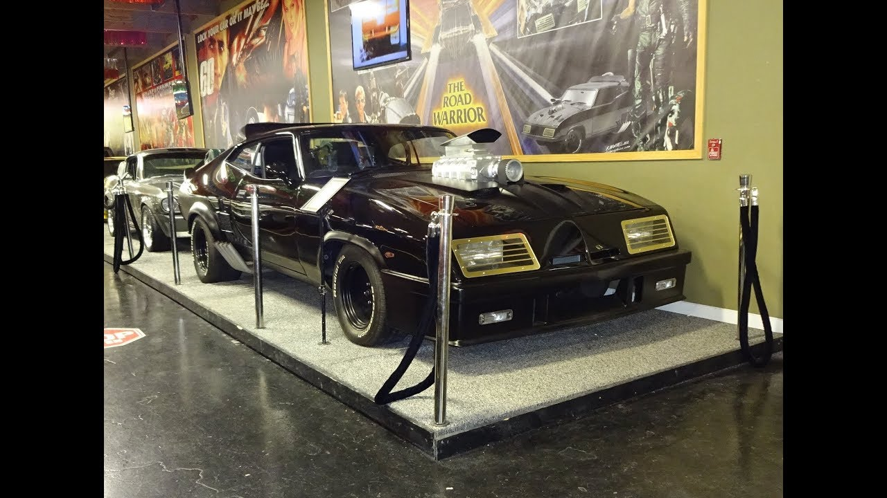 Mad Max V8 Interceptor 1973 Ford Falcon XB GT & Engine Sound on My Car Story with Lou Costabile