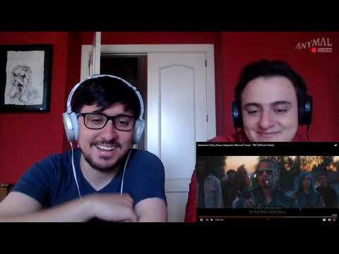 [Reacción] Sebastián Yatra, Rauw Alejandro, Manuel Turizo - TBT (Official Video) - ANYMAL LIVE 🔴