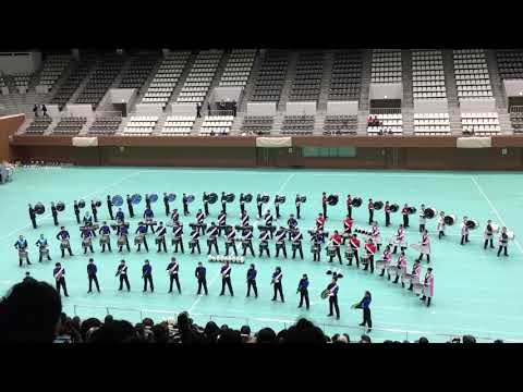Winter Marching Party in KYOTO バッテリー合同演奏