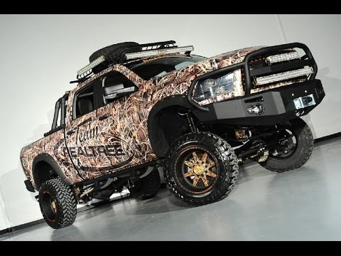 2012 Ram 2500 Diesel Realtree Camo Lifted Show Truck - YouTube