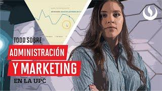Descuidado Específicamente Subrayar  Acerca de la carrera de Administración y Marketing