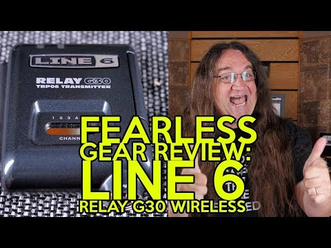 Fearless Gear Review: Line 6 Relay G30 Wireless | SpectreSoundStudios