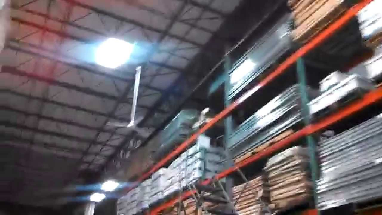 Updated video tour of fanimation warehouse demonstrating the canarm updated video tour of fanimation warehouse demonstrating the canarm industrial ceiling fans youtube aloadofball Choice Image