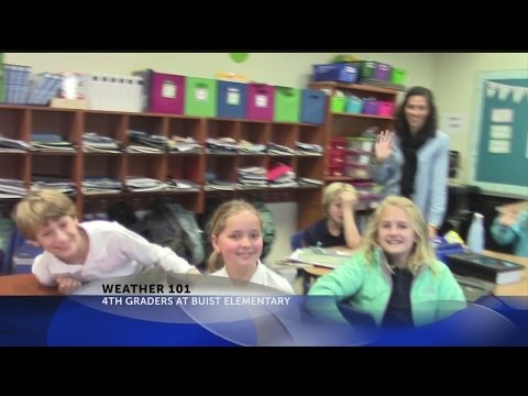 Rob Fowler visits 4th graders at Buist Academy