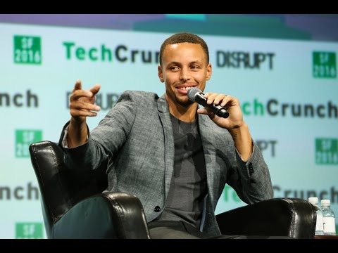 Nothing But Nets: Steph Curry at TechCrunch Disrupt SF 2016