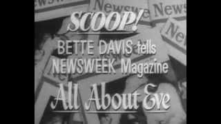 All about Eve Trailer 1950 Bette Davis, Anne Baxter, George Sanders