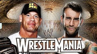 John Cena vs CM Punk Wrestlemania 31 Promo HD