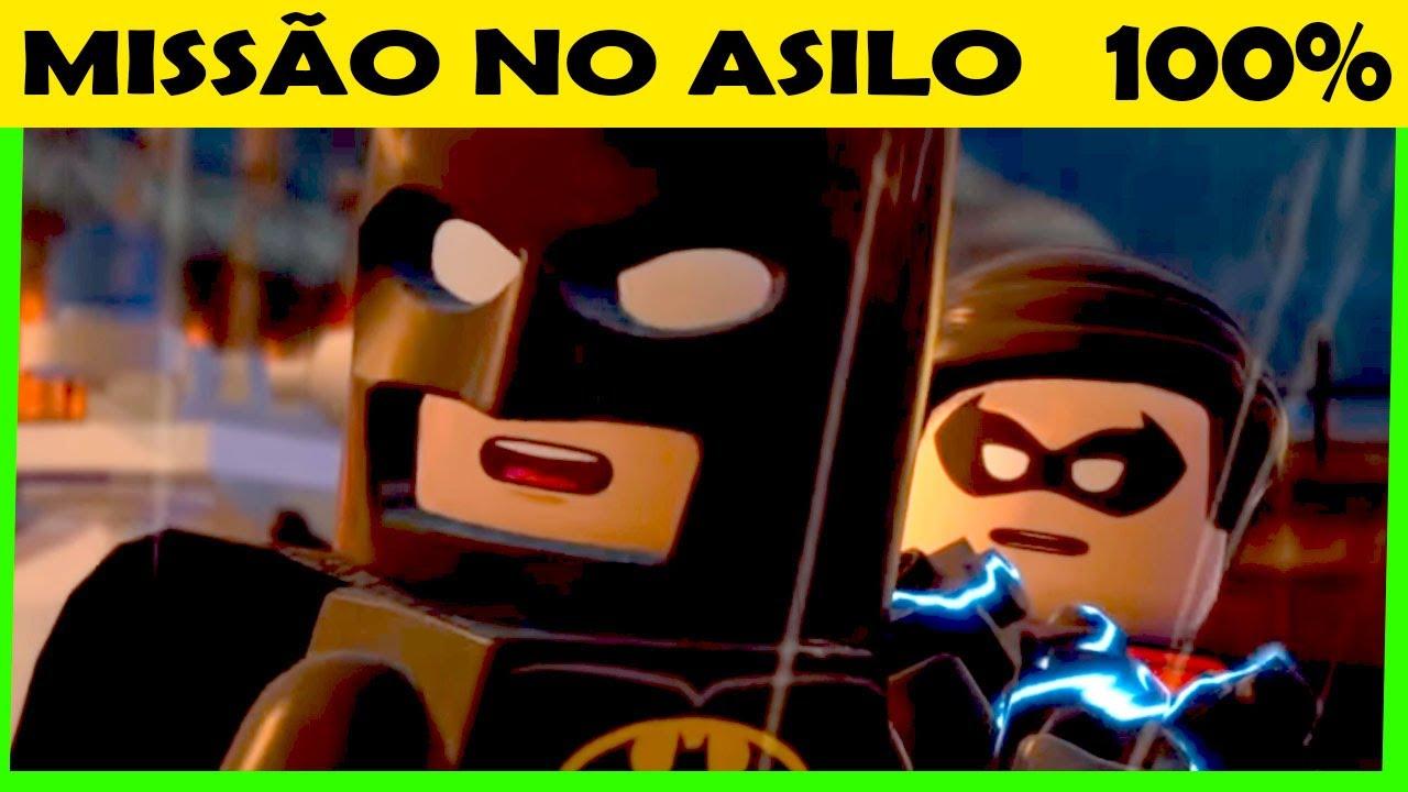 LEGO Batman 2 DC Super Heroes #41 MISSÃO NO ASILO Gameplay Português PC