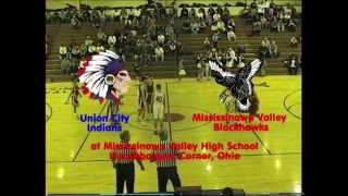 Union City Indians at Mississinawa Valley Blackhawks BBB 21098