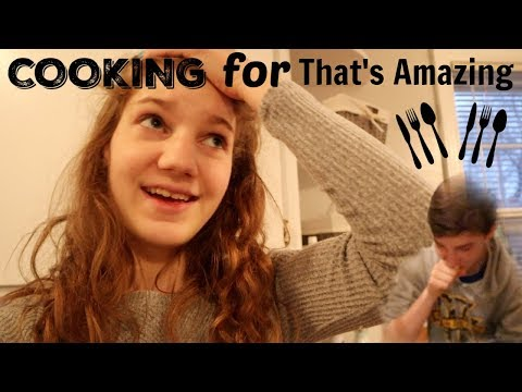 COOKING CHALLENGE! (Cooking for the ENTIRE That's Amazing family) | Match Up