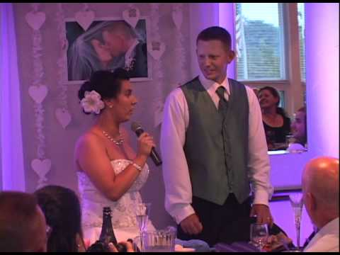how to write a bride and groom thank you speech