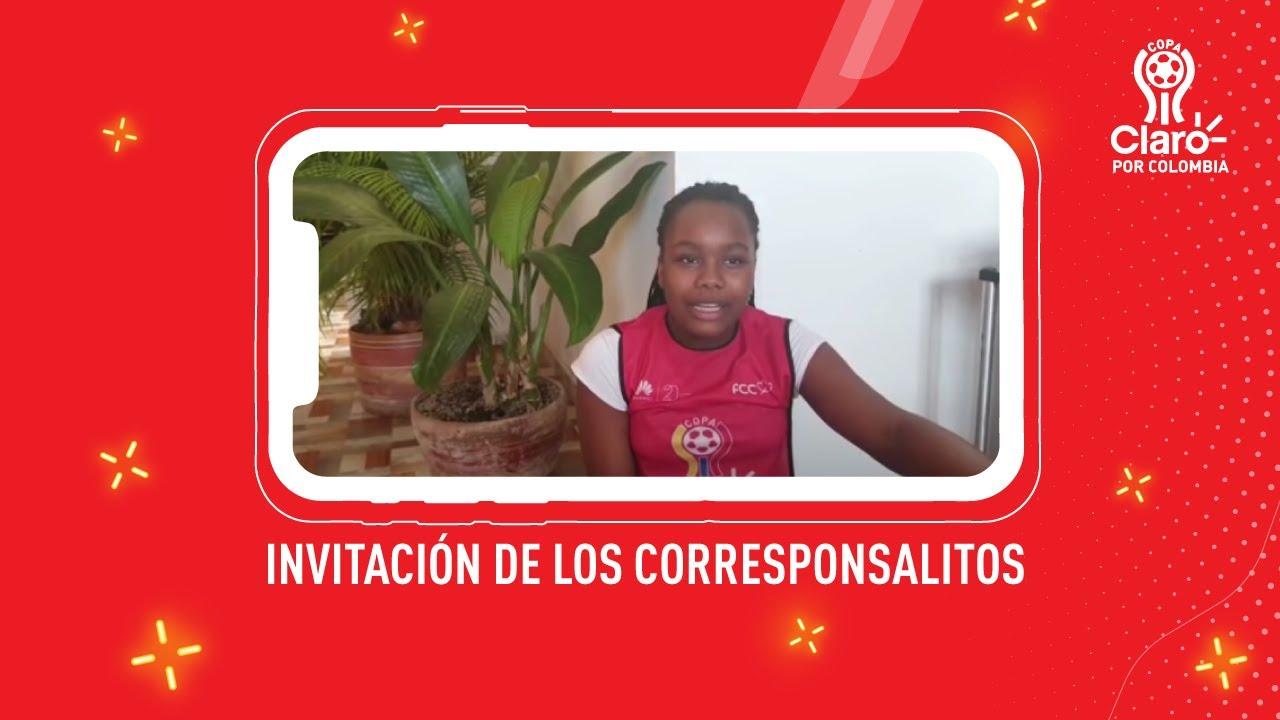 Copa Claro | Mariana hace parte de nuestros Corresponsalitos de la Copa Claro.