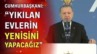 Cumhurbaşkanı Erdoğan'dan İzmir depremi açıklaması