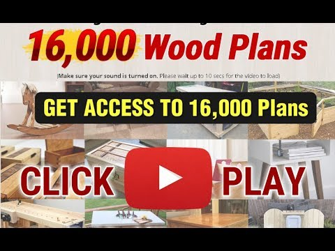 DIY Wood Furniture Projects - World's Largest Collection Of Woodworking Plans