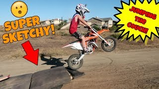 ROCCO AND BRODY'S SKETCHY DIRT BIKE RIDING