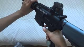King Arms Colt M4 CQB-R AEG Airsoft Gun Review/Unboxing