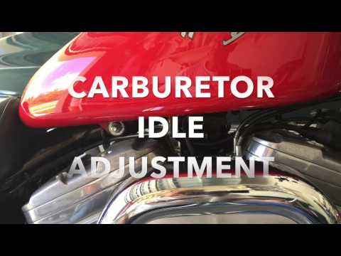 How to Adjust the Idle On All Harley Davidson Carburetor Motorcycle.