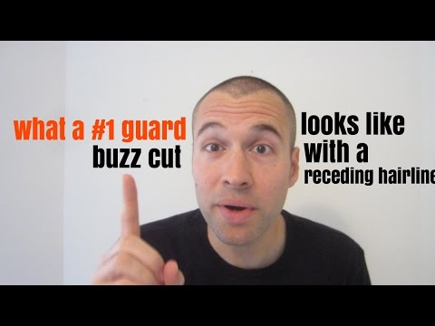Receding Hairline Which Guard Buzz Cut Looks The Best