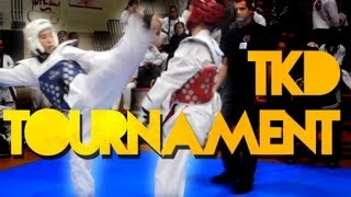 Winter Battle Taekwondo IX 2013 - Alex Wong Sparring