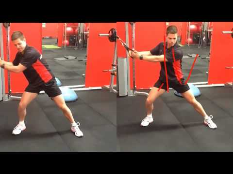 How To Do The Cable Woodchop correctly & Build Great Core Strength