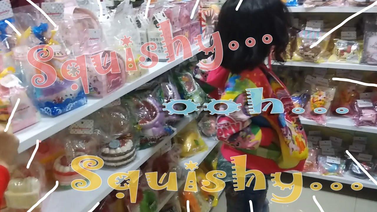 Squishy Hunting : Hunting squishy... ooh... squishy... tempat beli squishy di Bip Bandung - YouTube