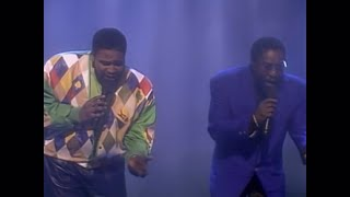 Gerald & Eddie Levert - Baby Hold On To Me LIVE at the Apollo 1992