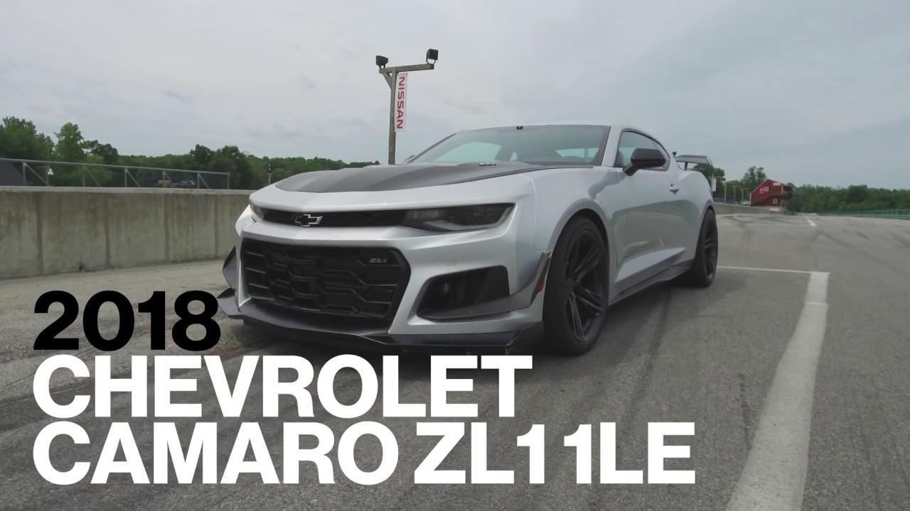 Chevrolet Camaro Zl1 1Le Hot Lap At Vir Lightning Lap 2017 Car And Driver