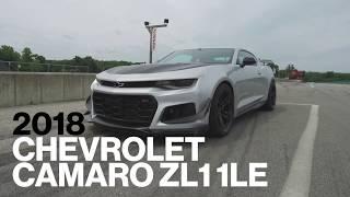 Chevrolet Camaro ZL1 1LE Hot Lap at VIR | Lightning Lap 2017 | Car and Driver