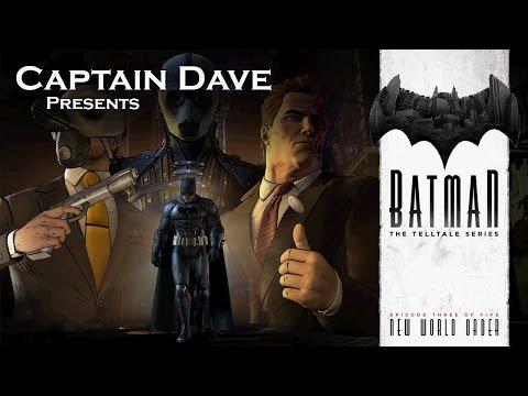 Telltale Batman: Episode 3 - Part 2: Behind The Mask