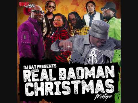 DJ GAT REAL BADMAN CHRISTMAS DANCEHALL MIX NOVEMBER 2016 FT AIDONIA/MASICKA/ALKALINE/