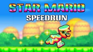 [TAS] New Super Mario Bros DS Star Mario Speedrun | 1080p 60ᶠᵖˢ