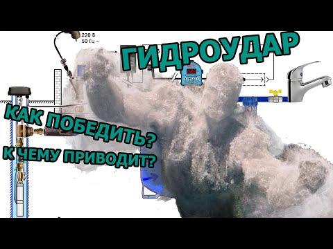 Как победить гидроудары при работе скважинного насоса? Почему скважина может начать песочить?