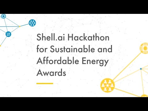Shell.ai hackathon for Sustainable and Affordable Energy 2020