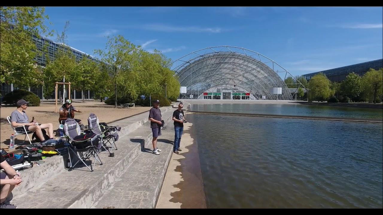 Ausflug Neue Messe Leipzig - YouTube