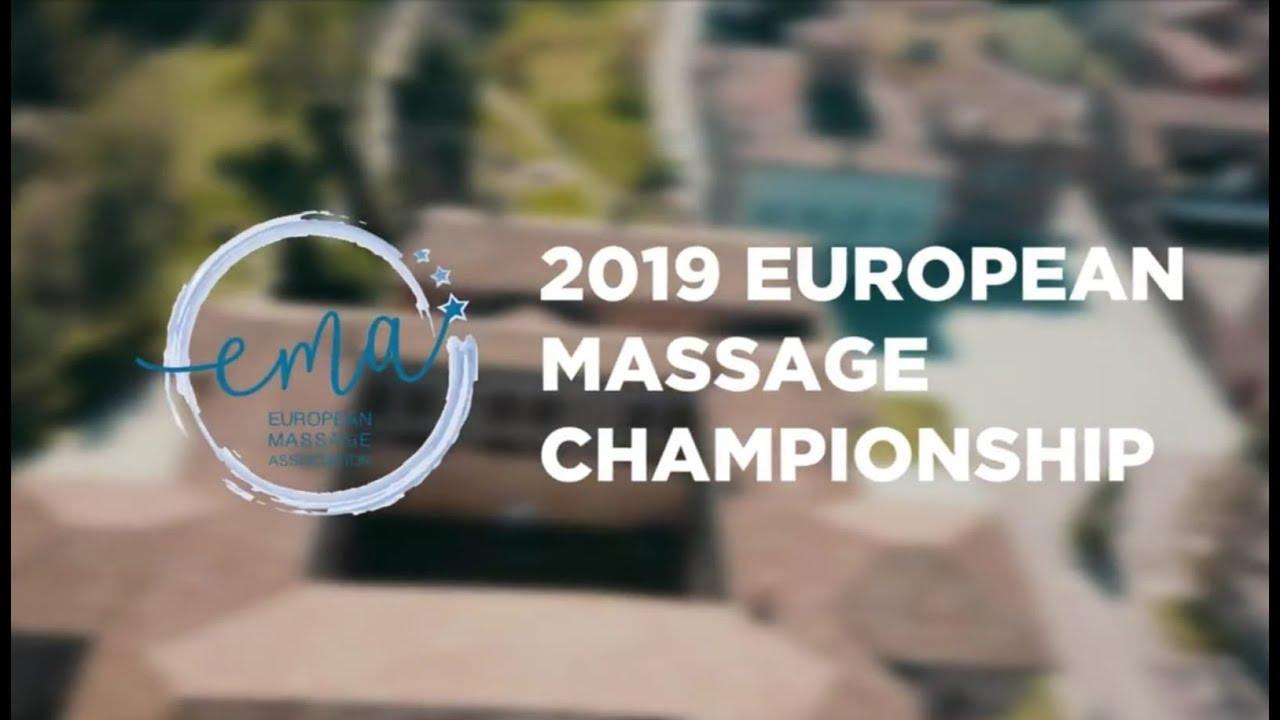 Participation au Championnat d'Europe de massage 2020