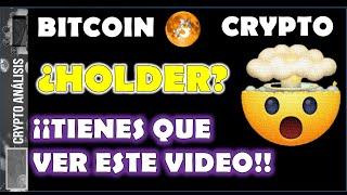 Bitcoin ¿ERES HOLDER? | Btc/Criptomonedas TRADING BITCOIN