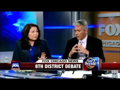 FoxChicago - Tammy Duckworth speaks on Rep. Joe Walsh