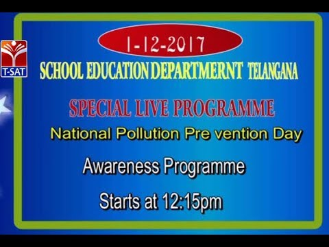 T-SAT ||  National Pollution Pre vention Day   || LIVE INTERACTIVE SESSION With T. Radhika