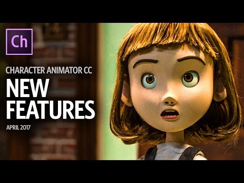 New Features - April 2017 (Adobe Character Animator CC Beta)